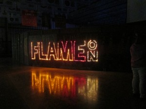 Flame On Banner